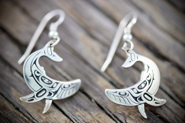Humpback Whale Earrings