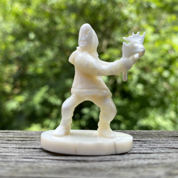 Walrus  Ivory Carving- Dancer