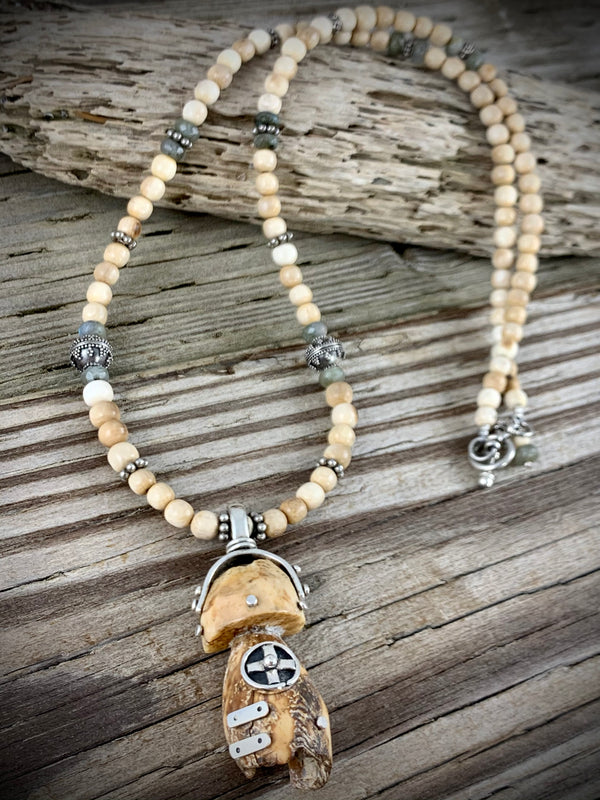 Walrus Ivory Necklace - 24""