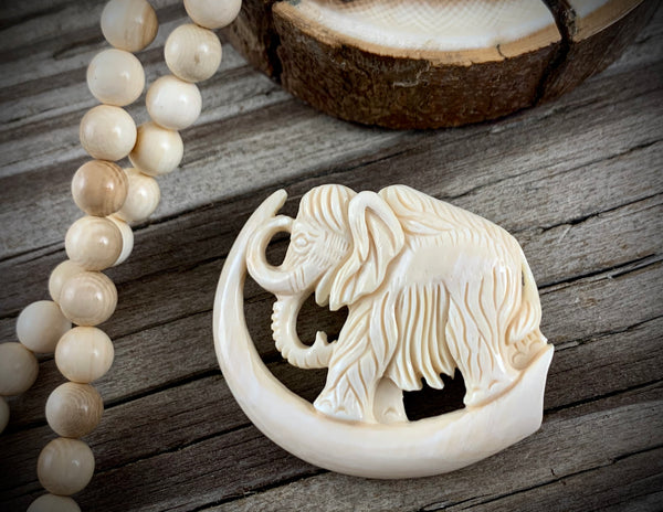 Mammoth Ivory Brooch