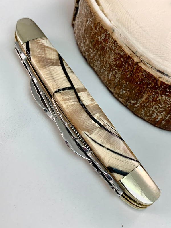 Mammoth Ivory Gentleman's Knife