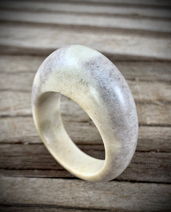 Moose Antler Ring