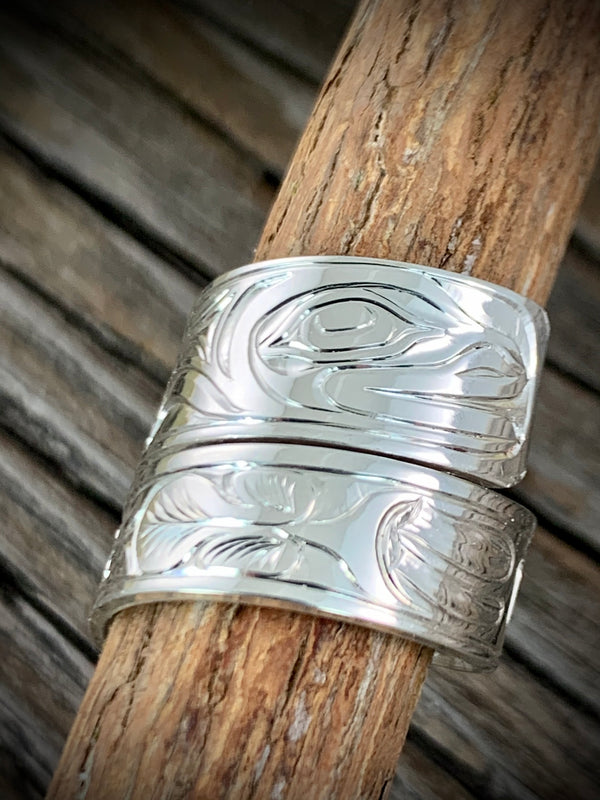 Frog Wrap Ring size 7
