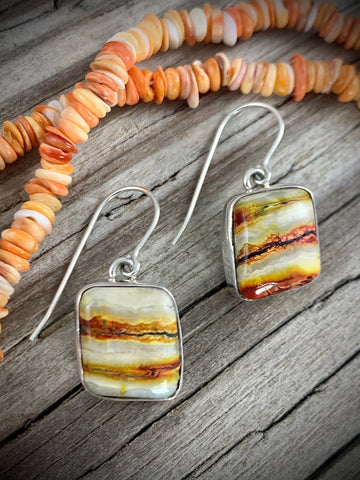 Mammoth Tooth Earrings