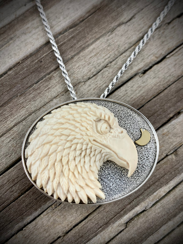 Eagle Pin - Pendant