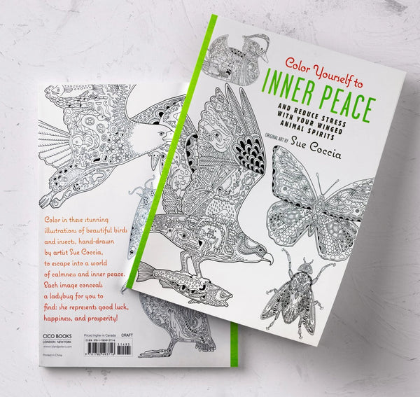 Color Yourself to Inner Peace by Sue Coccia