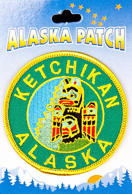 Ketchikan Alaska Totem Pole Patch