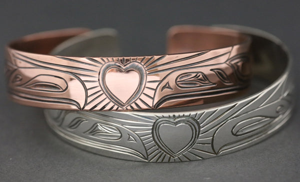 "Lovebirds Bracelet - 1/2"" x 6"" by Rob Martin"