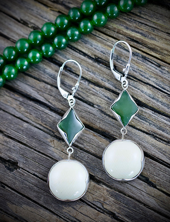 Jade Marquise Essential Earrings