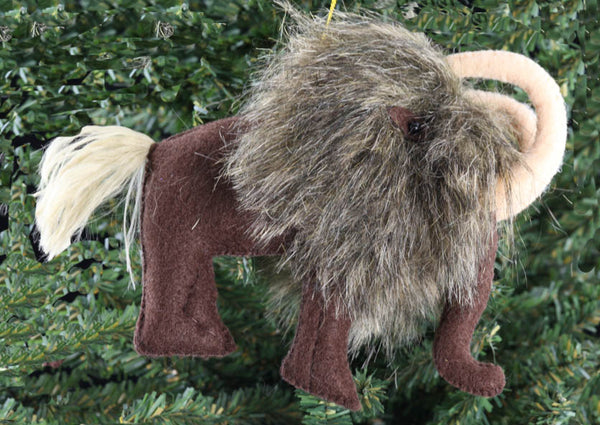 Woolly Mammoth Ornament