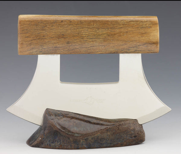 Woolly Mammoth Bone Ulu Knife