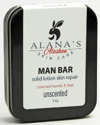 Man Bar 3oz Alaska Lotion Bar
