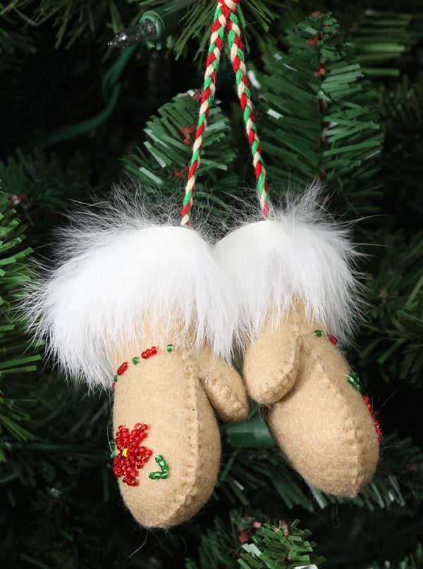 Athabaskan Mittens Ornament