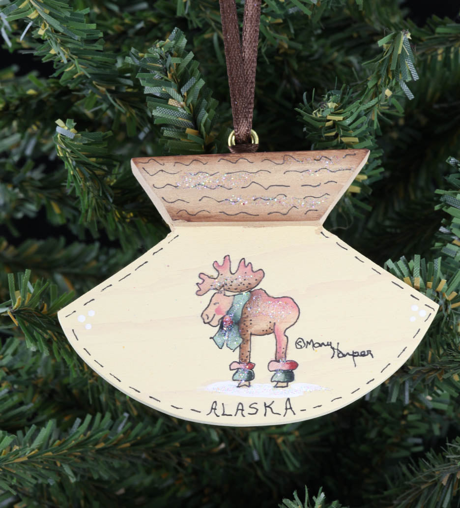 Ulu Ornament (Moose)