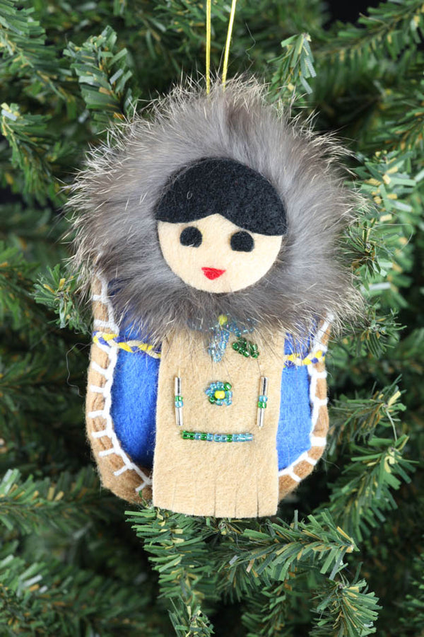 Eskimo Infant Ornament
