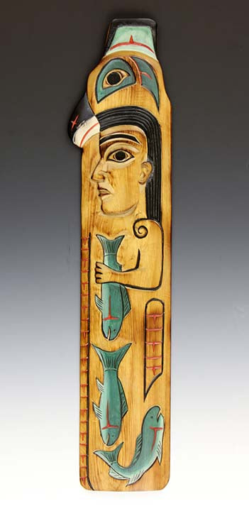 Fog Woman Totem Pole Plaque