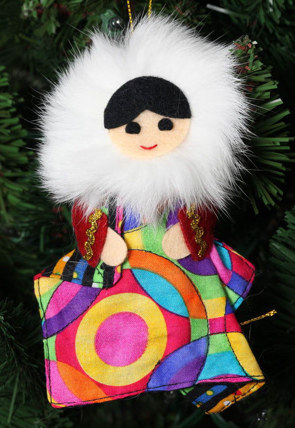 Eskimo with Quilt Ornament