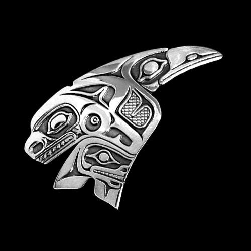 Raven Marries a Whale Necklace by Odin Lonning