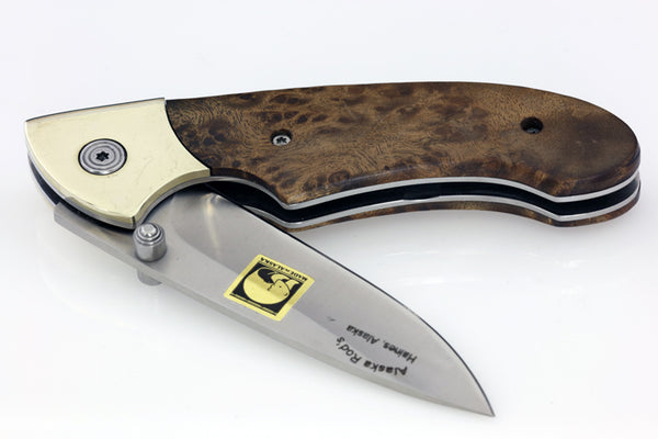 Mt. Kashaganak Knife - Quince Wood