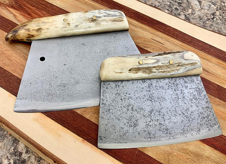 Savoonga Ulu with Antler Handle