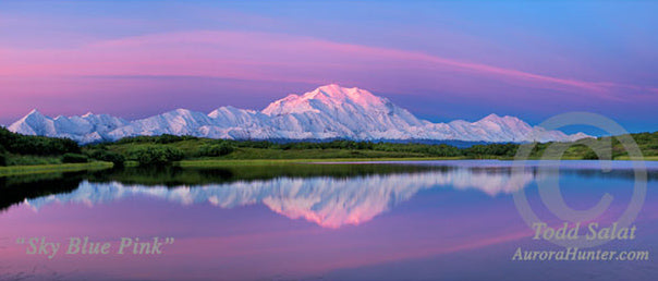 Sky Blue Pink by Todd Salat