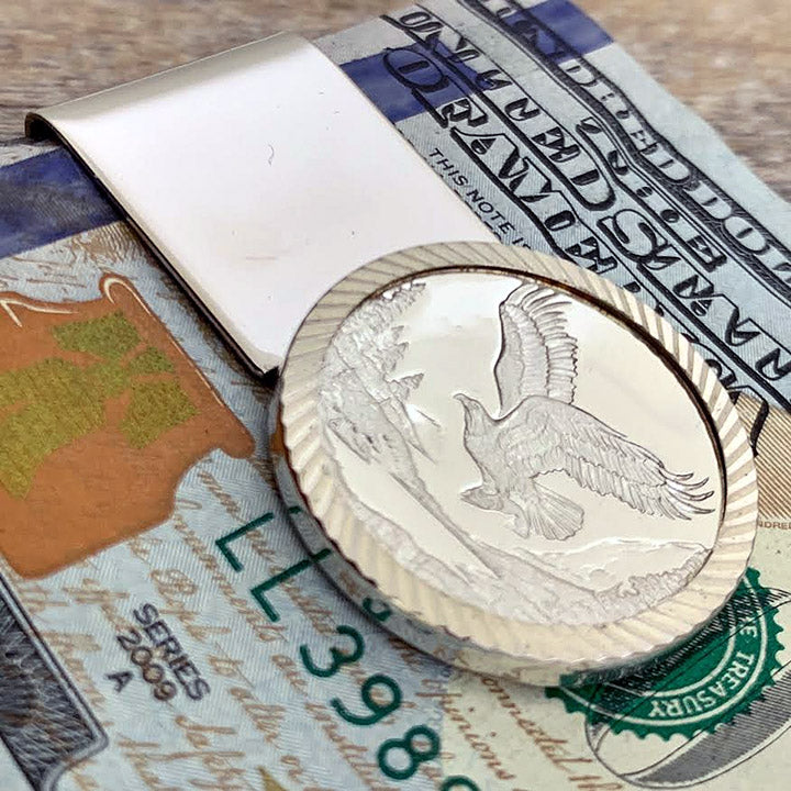 Eagle Small Money Clip