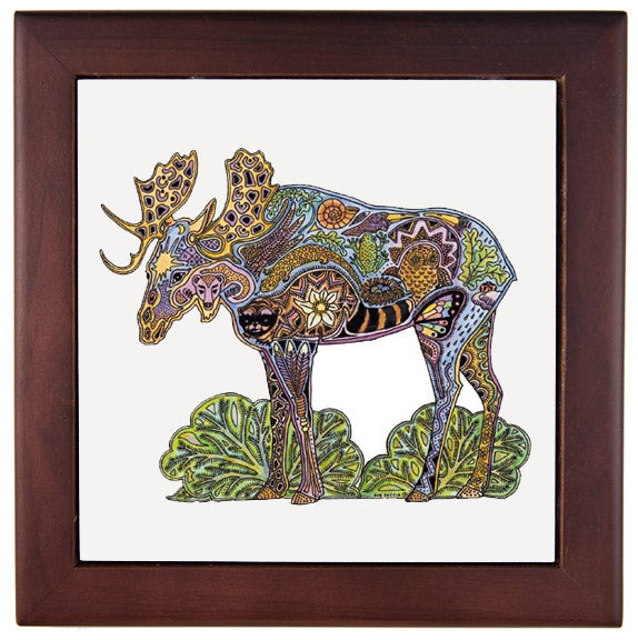 Moose Trivet by Sue Coccia