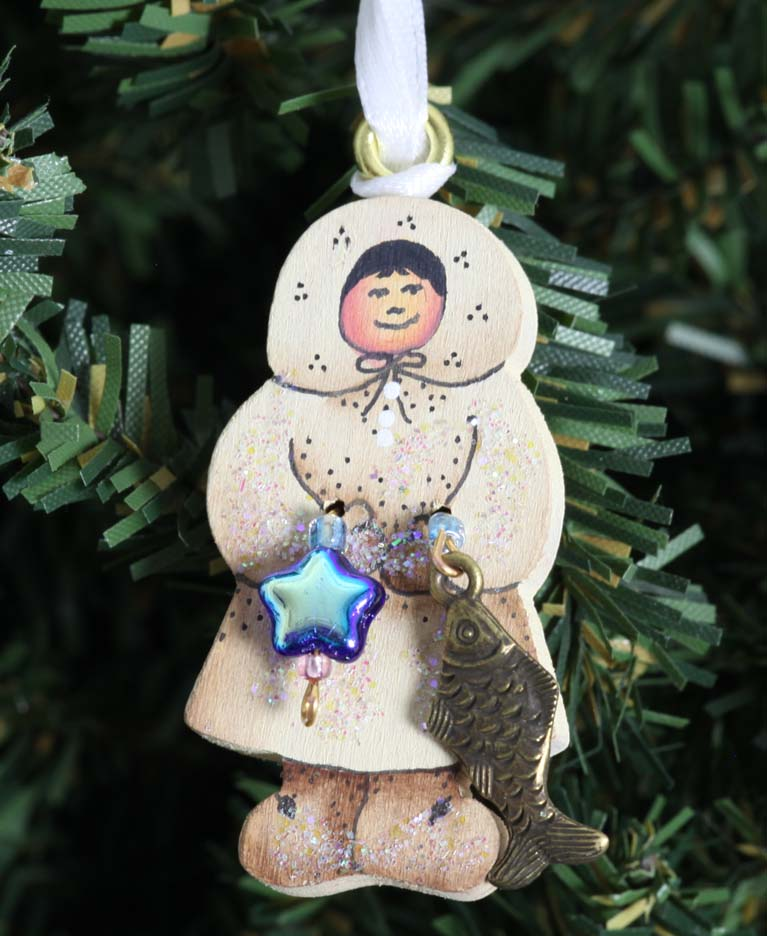 Small Eskimo Boy Ornament