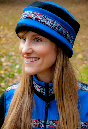 Aurora Totem Hat- Frost Blue