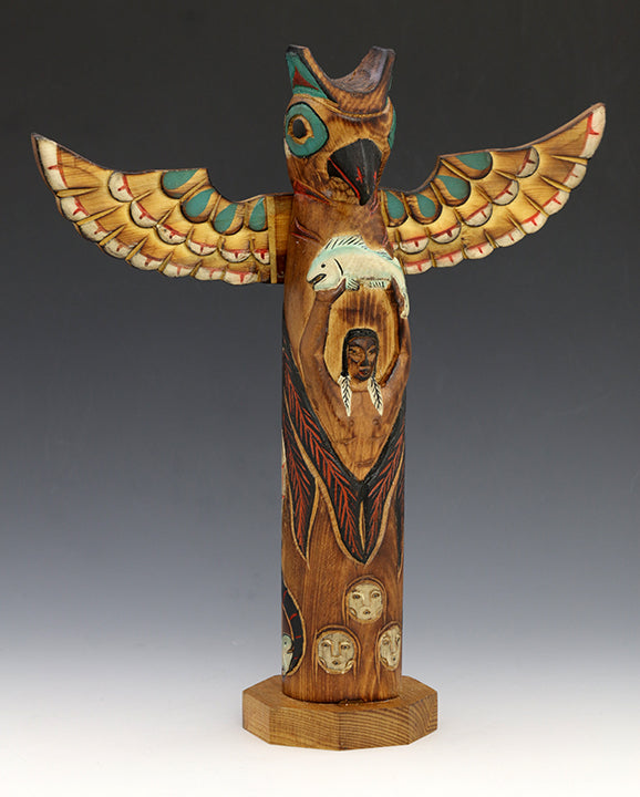 Eagle Boy 2 Totem Pole
