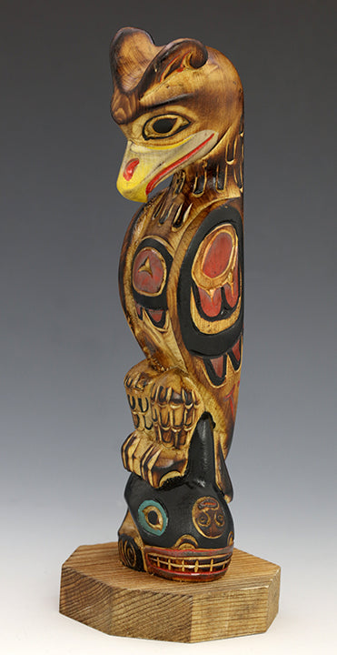 Thunderbird and Killer Whale Totem Pole