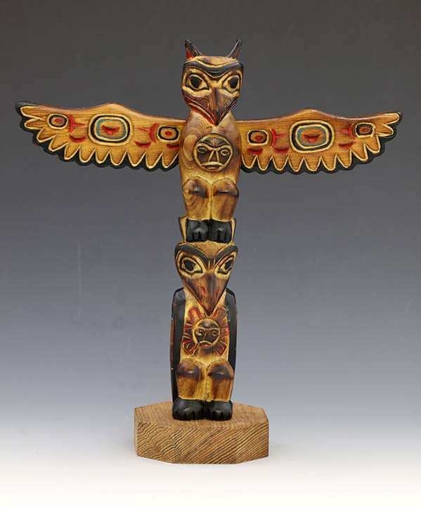 Lovebirds Totem Pole