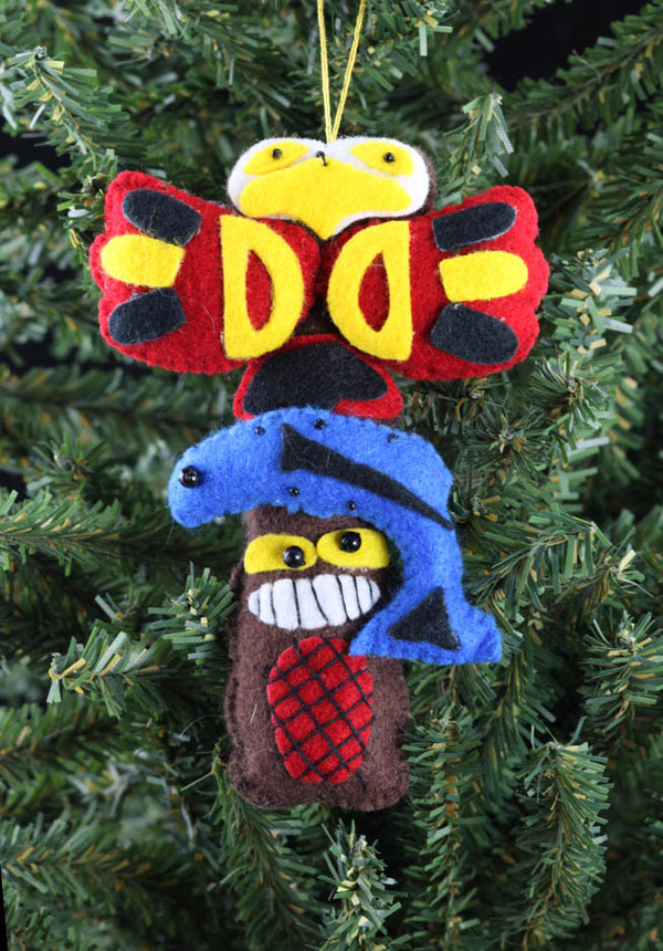Totem Pole Ornament