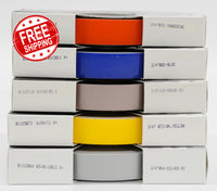 "3/4"" x 150' Three Quarter Inch Roll of Solid Premium Accent Stripe in many colors"