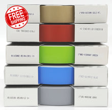 "1"" x 150' One Inch Roll of Solid Premium Accent Stripe in many colors"
