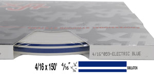 "4/16"" x 150' Roll of Automotive Truck Accent Pinstripe stripe many colors"