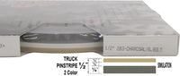 "Half Inch Wide 2 Color Truck PinStripe 1/2"" x 150'  Accent Striping"