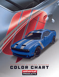 Universal Products Automotive Pinstripe Color Chart