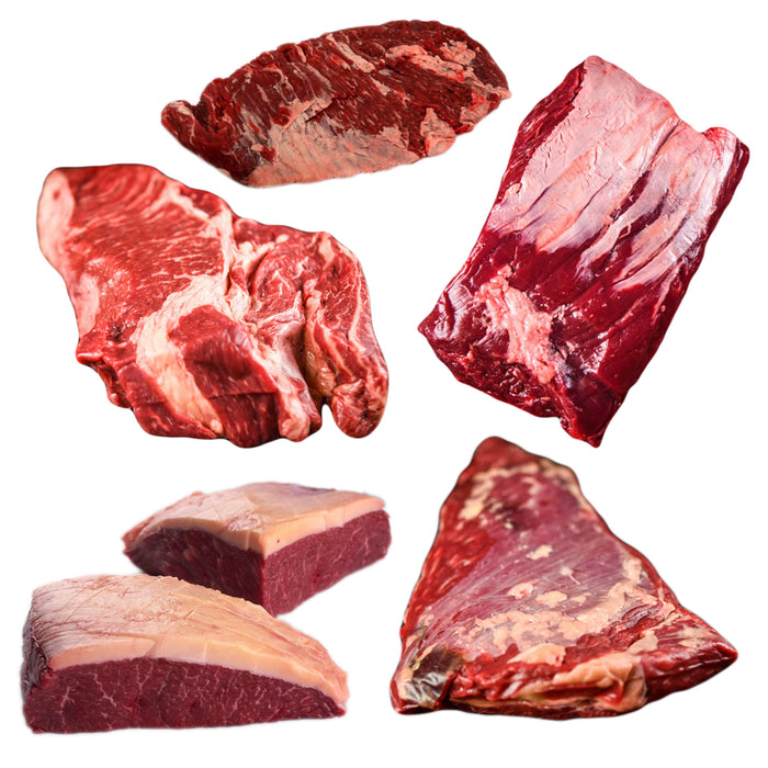 Grass Fed Fatty Beef Package - 12lbs