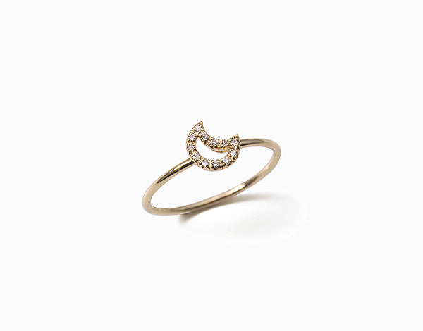 Baby Moon Ring