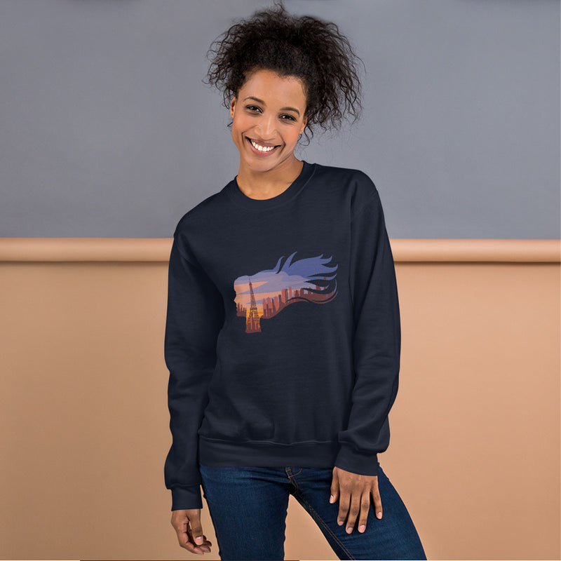 Women in Paris Sweatshirt