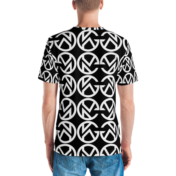 GK Monogram Pattern Men's T-shirt