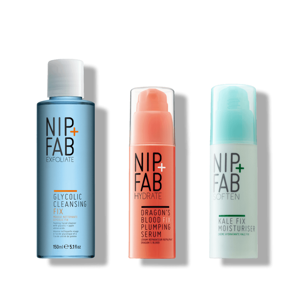 3-STEP DAILY SKINCARE KIT - Nipandfab.gr