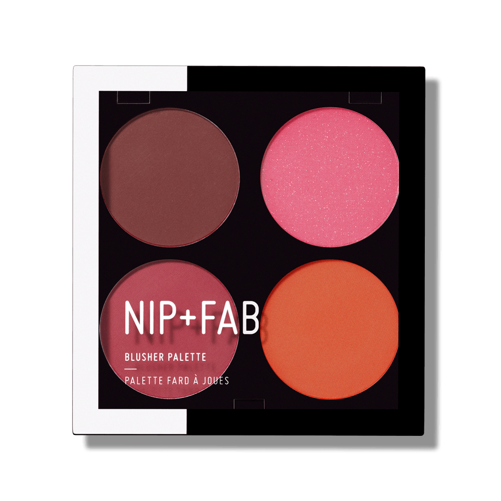 BLUSHER PALETTE BLUSHED BRIGHTS