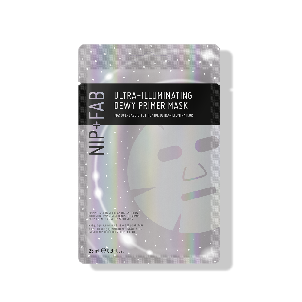 ULTRA-ILLUMINATING DEWY PRIMER SHEET MASK - Nipandfab.gr