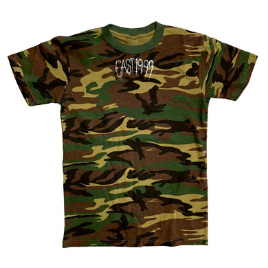 Bone Thugs-N-Harmony EAST 1999 Embroidered Camo Tee