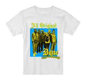"Bone Thugs-N-Harmony All Original Tee ""White"""