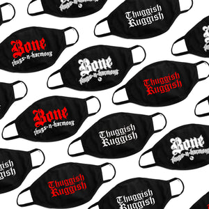 10 Pack Facemasks Bone Thugs / Thuggish Ruggish (Assorted)