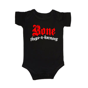 "Onesie Bone Greatest Hits Logo ""Black"""
