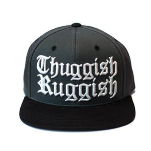 "Thuggish Ruggish ""Grey/Black"" Snapback"